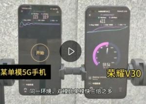 5G手机网络对比,单模和双模的差距不小